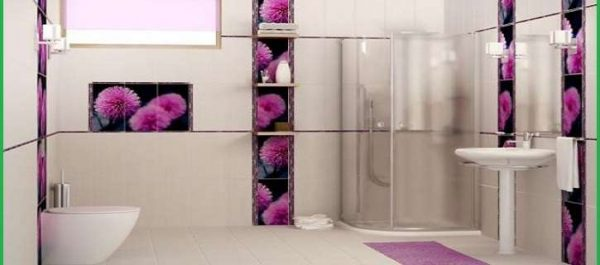 плитка в отделке ванной комнаты