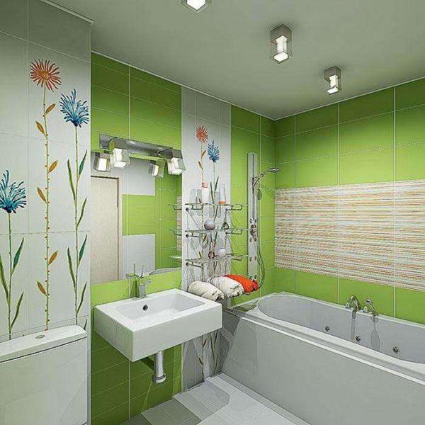 пластиковые панели в отделке ванной комнаты