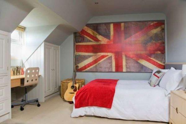 комната мальчика в английском стиле