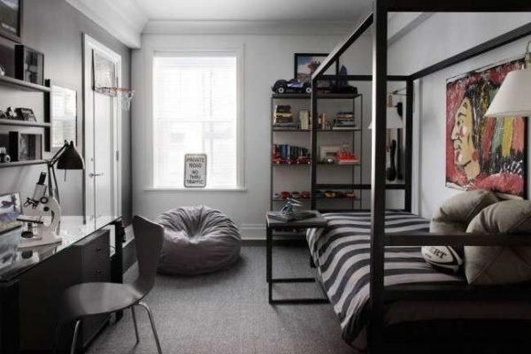интерьер комнаты мальчика подростка
