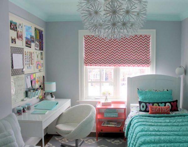 голубая комната для девочки