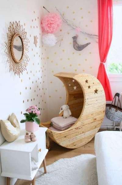 декор в интерьере комнаты девочки