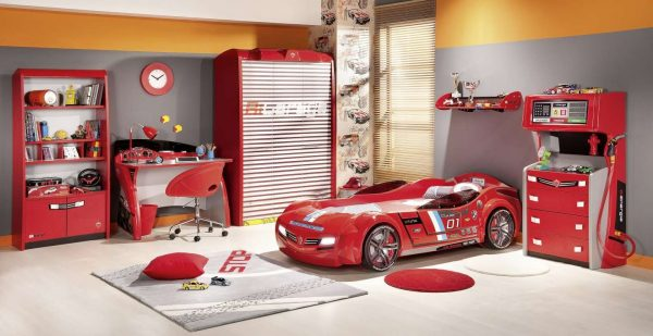 машины в детской