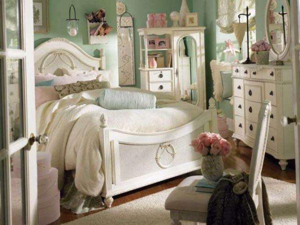 роскошное оформление комнаты девочки