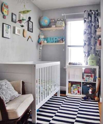 дорожка в комнате новорождённого