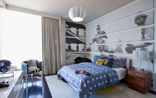 серый ковёр для детской