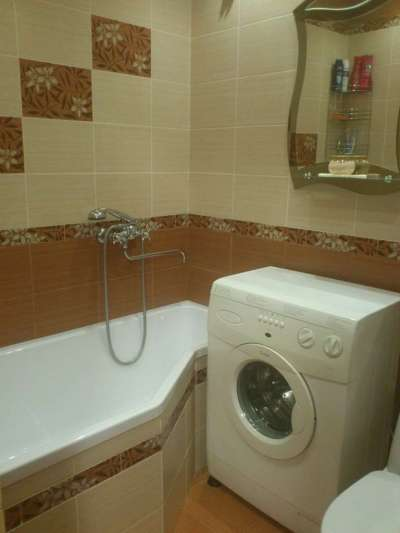 ванная без умывальника