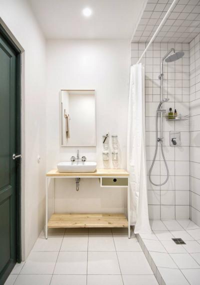 дизайн маленькой ванной с душем