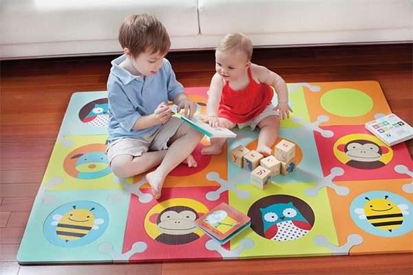мягкий коврик пазл в детскую комнату