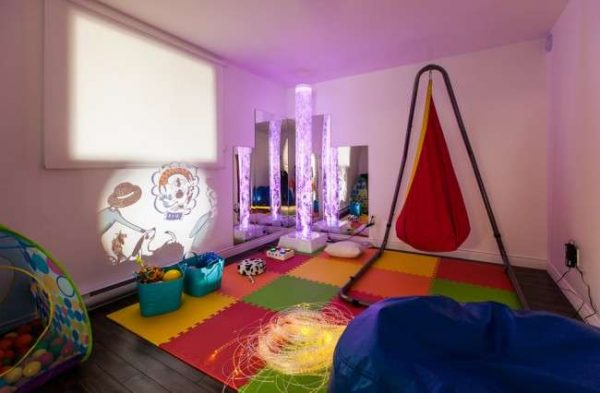мягкий коврик в детскую комнату