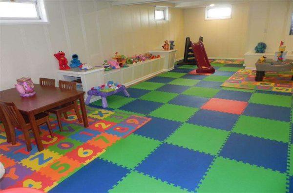 мягкий пол в детском саду