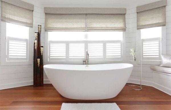 горизонтальные панели пвх в ванной