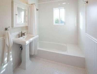 панели пвх с покраской в ванной комнате