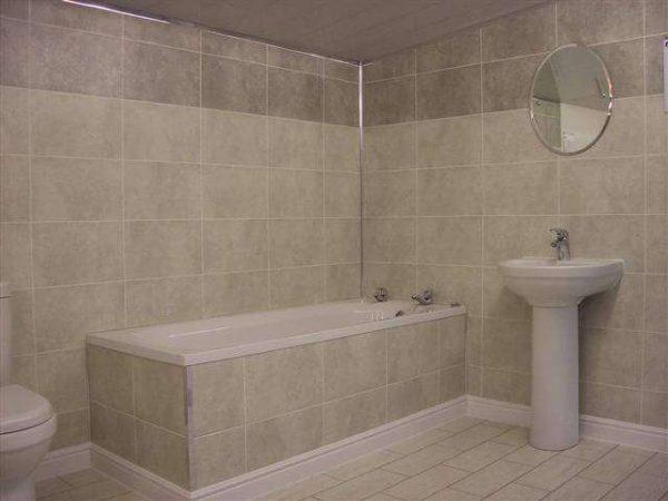 панели пвх в ванной комнате