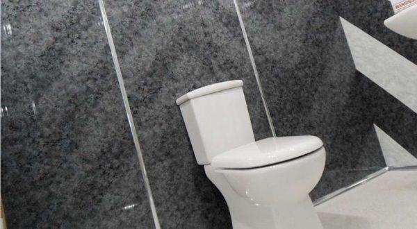широкие панели пвх в ванной
