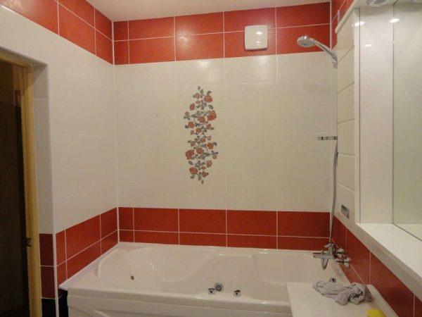 плитка вокруг ванной