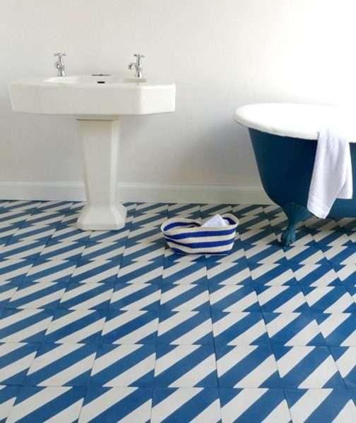 плитка на полу ванной своими руками