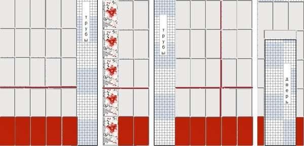 важно ещё рассчитать количество плитки в ванную касается кафедры