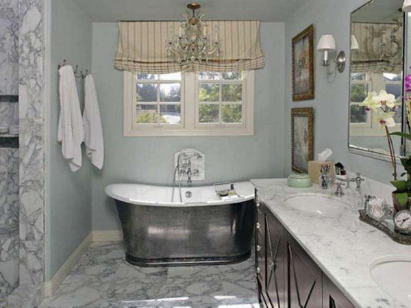 современная ванная комната в стиле прованс