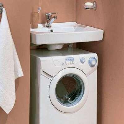 раковина со стиральной машиной