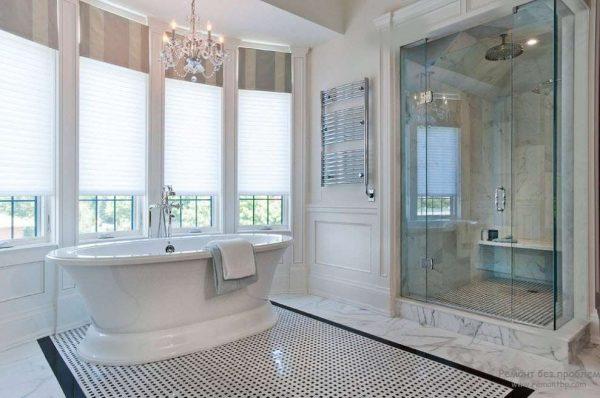 эркер в ванной комнате
