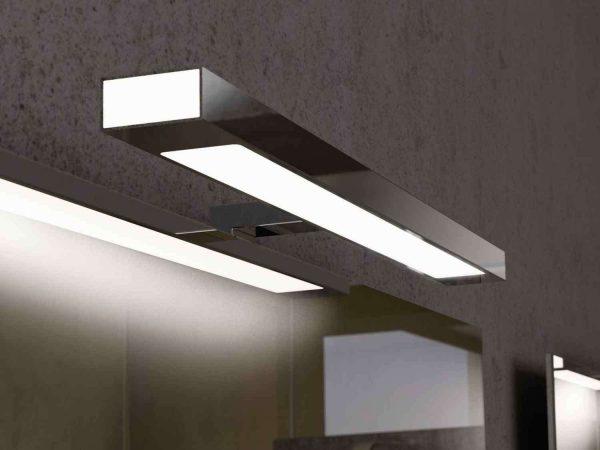 светодиодные лампы в ванной с зеркалом