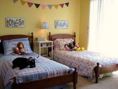 комната девочки и мальчика