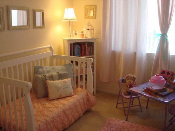 детская комната для маленькой девочки