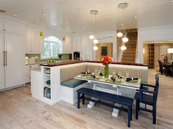 функциональная мебель для кухни студии