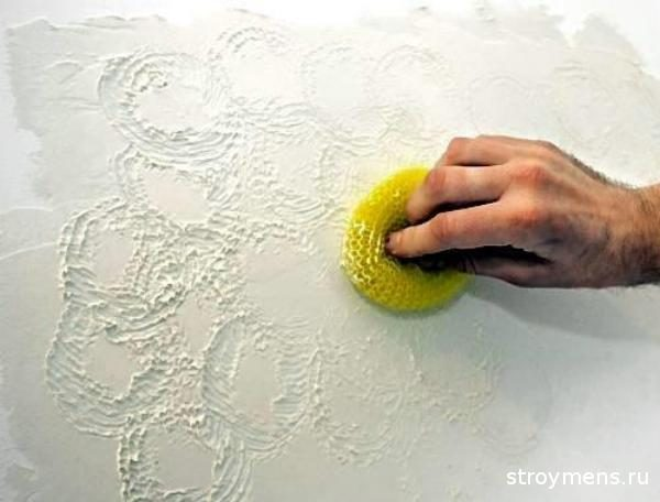 стены со штукатуркой белой