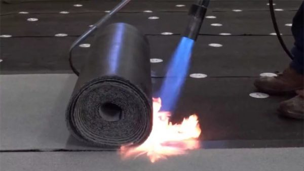 Монтаж рулонной гидроизоляция наплавляемого типа
