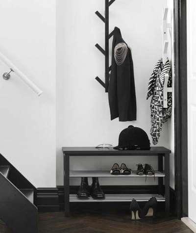 полка для обуви в коридоре