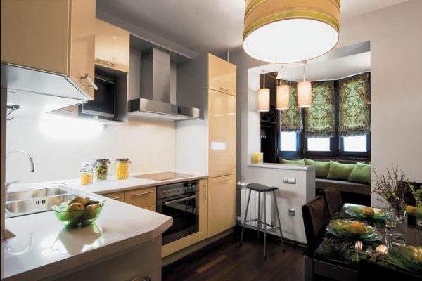 Дизайн кухни 12 кв м: идеи интерьеров, реальные фото.