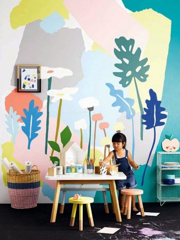 рисуем сами на стенах