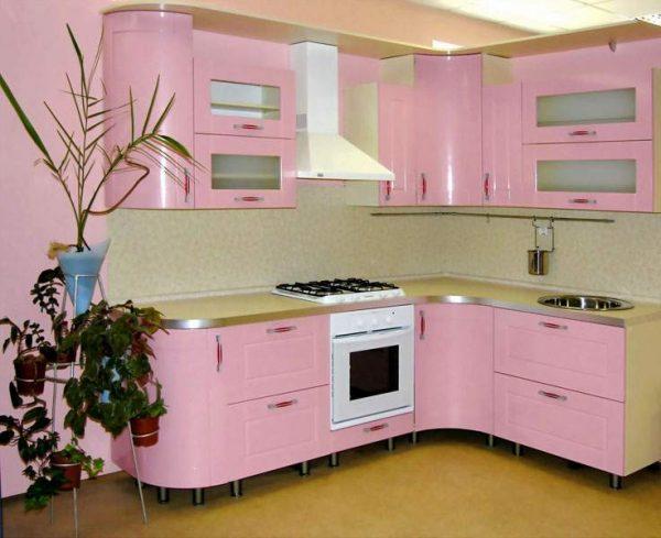 кухня из ДСП с покрытием из пвх