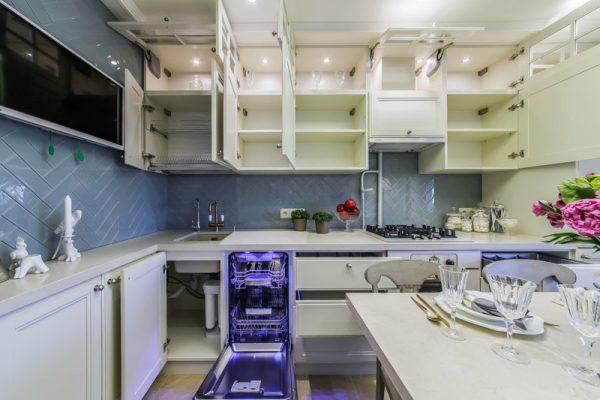 прованс на маленькой кухне