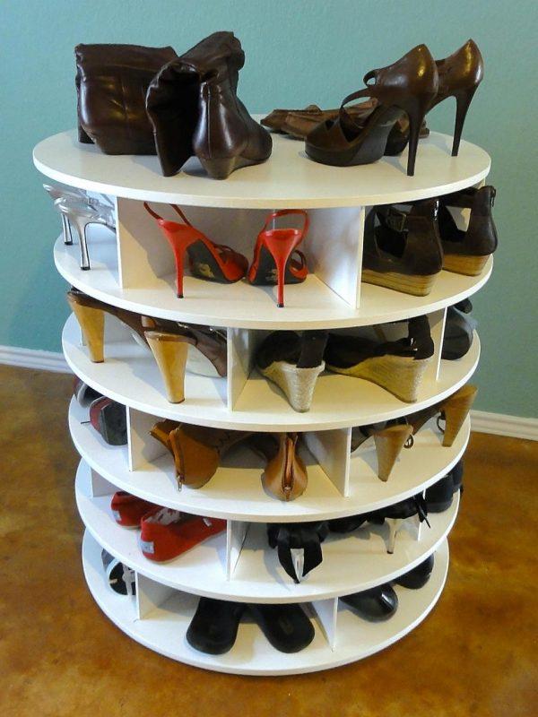 полка для обуви карусель