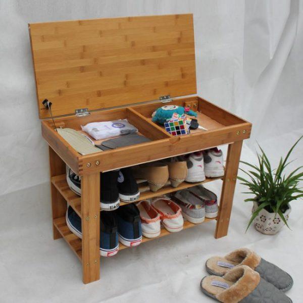 полка для обуви с крышкой