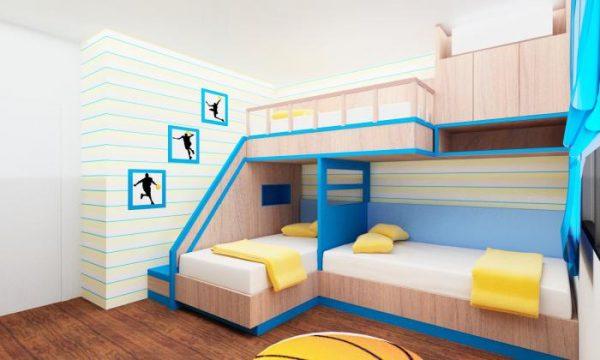 мебель в детской двух мальчиков