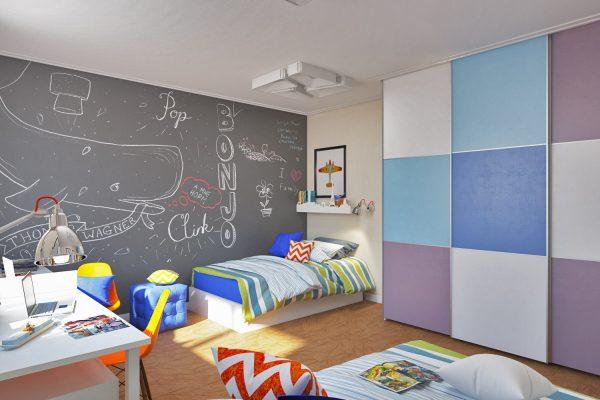 на стенах рисовать в детской
