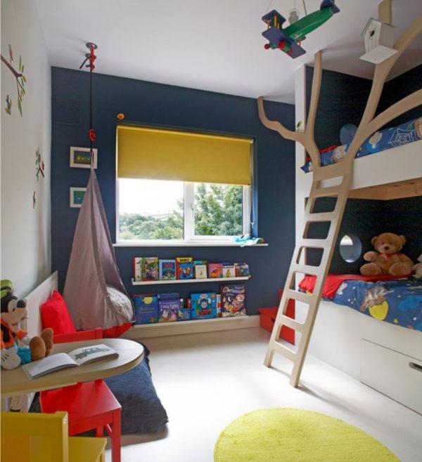 лестница дерево на кровать в детской
