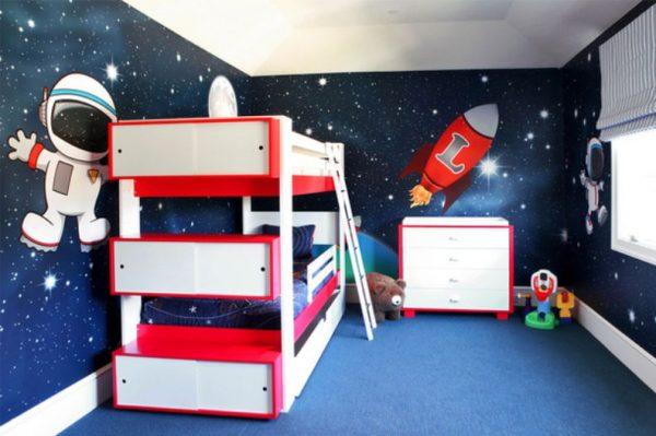 космос в детской