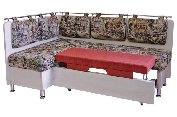 кухонный диван из гобелена