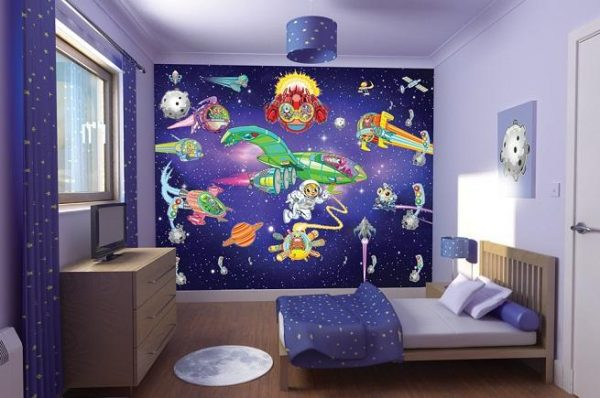 фотообои в детской комнате мальчика