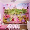 Фотообои в детскую комнату для девочек (120 фото)