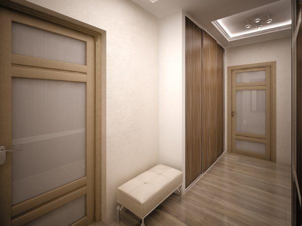 Декоративная штукатурка в коридоре — 120 фото интерьеров